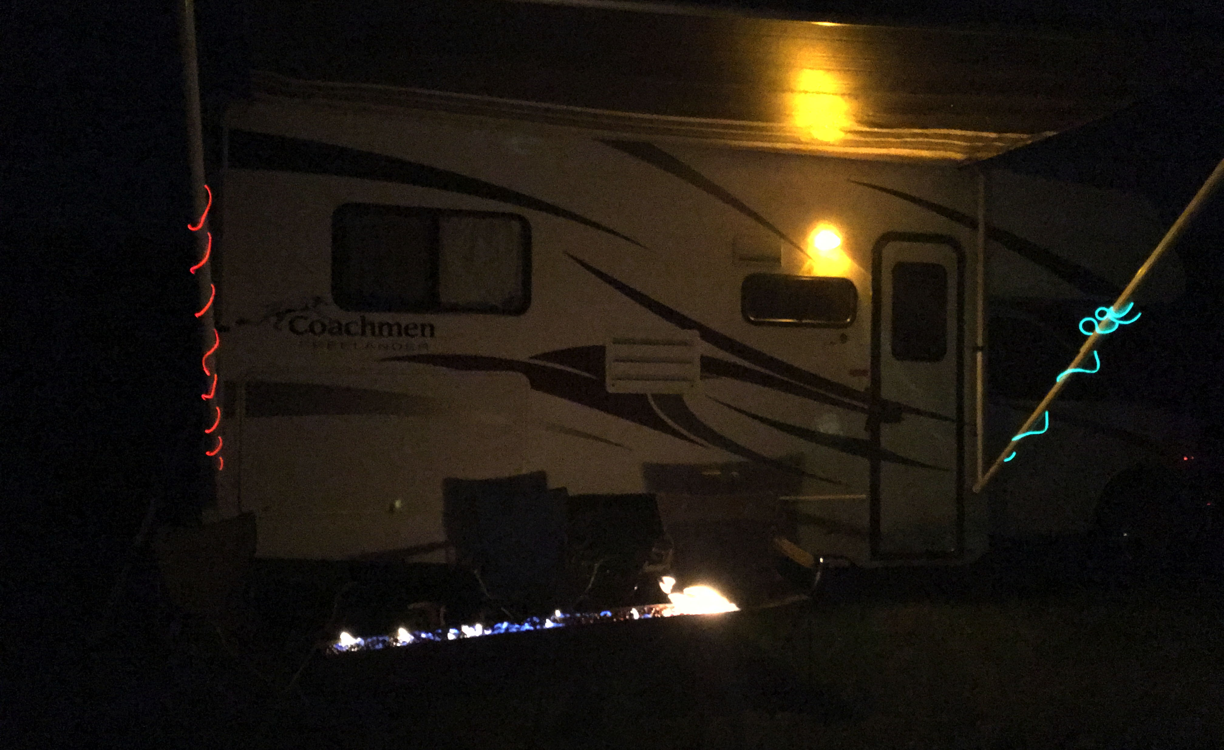 The RV at Pagan Bunny Burn